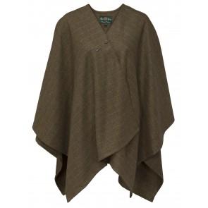 Alan Paine Combrook Ladies Tweed Wrap Willow