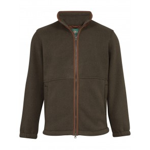 Alan Paine Aylsham Windblock Fleece Green