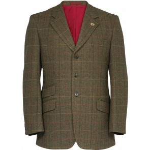 Alan Paine Combrook Tweed Blazer Peat
