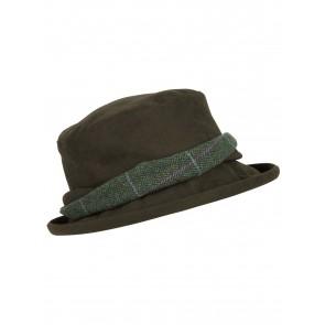 Hoggs of Fife Albany Waterproof Tweed Twist Hat