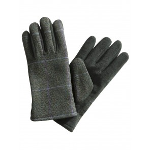 Hoggs of Fife Albany Ladies Tweed/Fleece Gloves