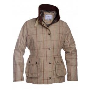 Alan Paine Rutland Ladies Tweed Coat Leaf