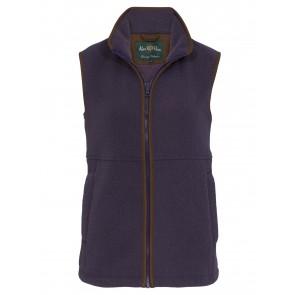 Alan Paine Aylsham Ladies Fleece Waistcoat Lilac