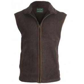 Alan Paine Aylsham Fleece Waistcoat Olive