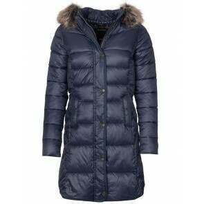 Barbour Jamison Quilted Jacket Navy