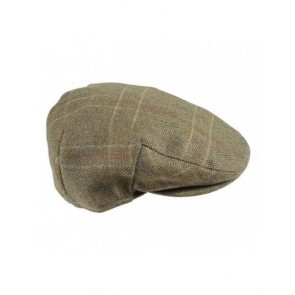 Barbour Crieff Cap Olive/Mixed Herringbone