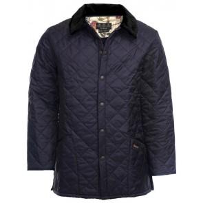 Barbour Morris Liddesdale Quilted Jacket Navy