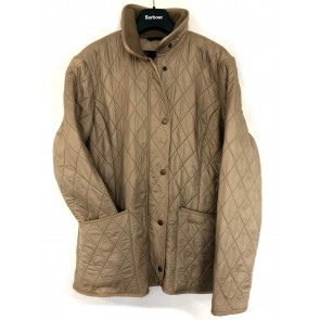 Barbour Ladies Polarquilt Jacket Sandstone