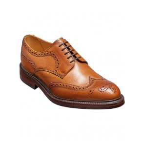 Barker Kelmarsh Wide Fit Brogue Cedar