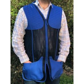 Beretta Urban Mesh Clay Shooting Vest Beretta Blue