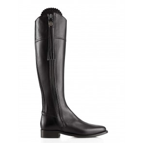 Fairfax and Favor Women's Regina Boots Black Leather