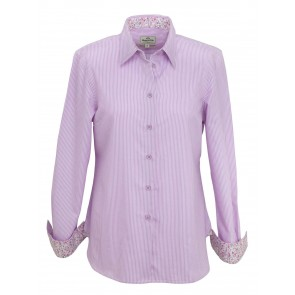 Hoggs of Fife Bonnie Shirt Lavender Stripe