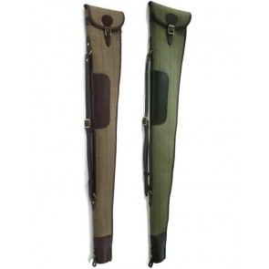 Croots Helmsley Tweed Shotgun Slip with Flap and Zip