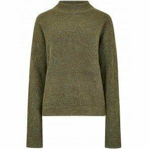 Dubarry Byrne Cosy Wool Sweater Dusky Green