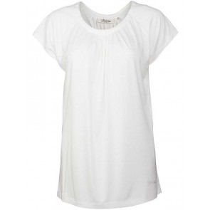 Dubarry Quilty Scoop Neck Top White