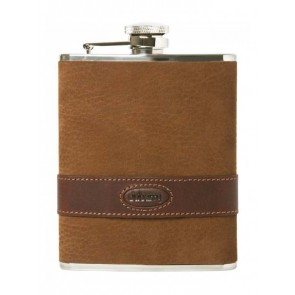 Dubarry Rugby Hip Flask Walnut