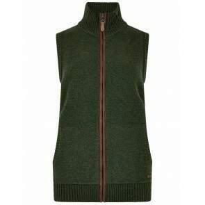 Dubarry Sheedy Cosy Knit Bodywarmer Olive