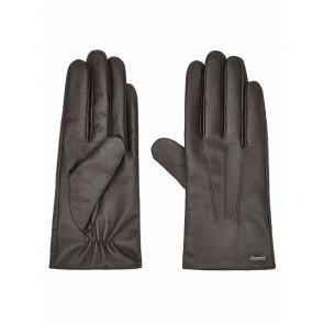 Dubarry Sheehan Women's Leather Gloves Mahogany