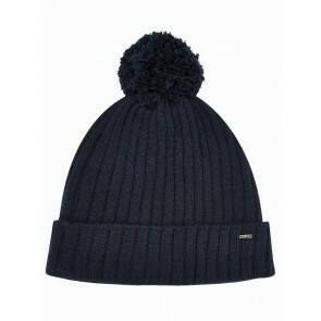 Dubarry Stewart Bobble Hat Navy