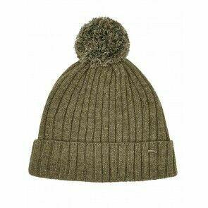 Dubarry Stewart Bobble Hat Dusky Green