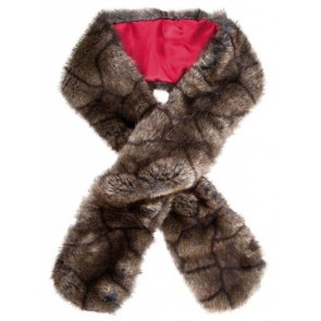 Dubarry Faux Fur Scarf Elk