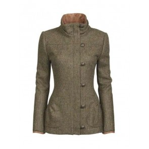 Dubarry Bracken Ladies Tweed Jacket Heath
