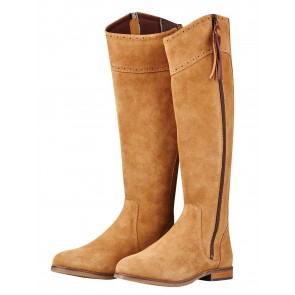Dublin Kalmar Suede Tall Boots Stone