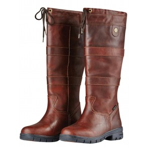 Dublin River Grain Boots Red Brown