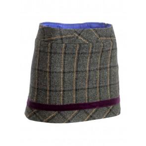 Alan Paine Duchess Tweed Mini Skirt