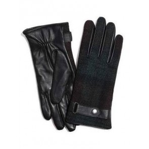 Failsworth Ladies Harris Tweed/Leather Gloves HT53