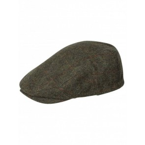 Hoggs of Fife Harewood Waterproof Tweed Cap (Small)