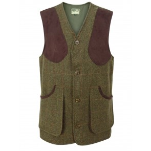 Hoggs of Fife Harewood Tweed Shooting Vest