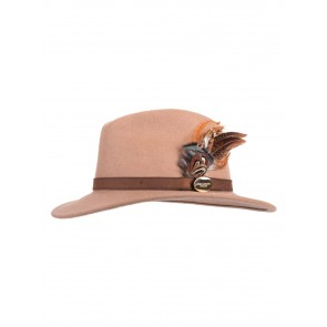 Hicks and Brown The Gamebird Suffolk Fedora Camel