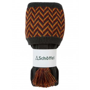 Schoffel Herringbone Sock Forest/Ochre/Mulberry