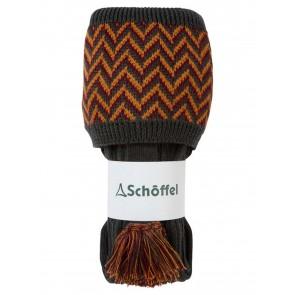 Schoffel Herringbone Sock Forest/Ochre/Mulberry