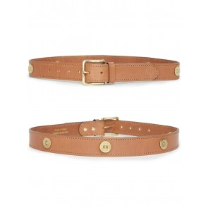 Hicks and Hides Campden Farmer Belt (Multi) Tan
