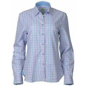 Hoggs of Fife Becky II Shirt Pink/Blue