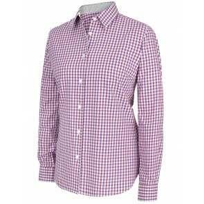 Hoggs of Fife Becky II Shirt Violet/Cerise