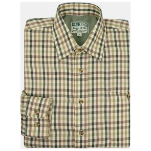 Hoggs of Fife Microfleece Lined Shirt Bracken