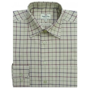 Hoggs of Fife Premier Tattersall Shirt Chieftan