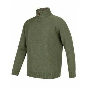 Hoggs of Fife Lothian 1/4 Zip Pullover Thyme