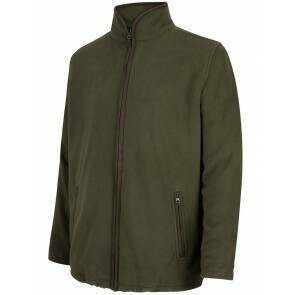 Hoggs of Fife Woodhall Fleece Jacket Green