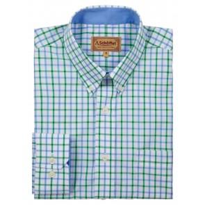 Schoffel Holkham Shirt Green Check