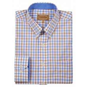 Schoffel Holkham Shirt Ochre Check