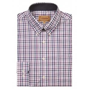 Schoffel Holkham Plum Shirt