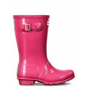 Hunter Original Kids Gloss Bright Pink (Jnr 12+)