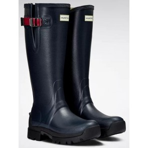 Hunter Women's Balmoral Neoprene Navy Peppercorn