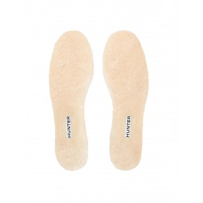 Hunter Luxury Shearling Insoles Natural