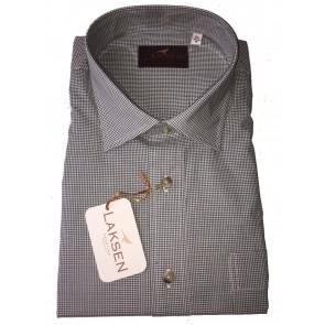 Laksen Kuti Shirt Green Small Check