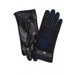 Failsworth Ladies Harris Tweed/Leather Gloves HT54